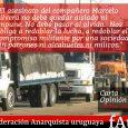 El 2 de enero el SUTCRA (Sindicato Único del Transporte de Cargas y Ramas Afines) realizaba un paro de actividades en el marco de reclamos concretos hacia los Consejos […]