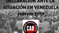Nuevamente Venezuela está en la mira y en el centro de los debates. Rimbombantes declaraciones en todos los medios de prensa de diversos actores condenando al gobierno de Maduro, algunos […]