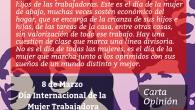 Un nuevo 8 de Marzo POR UN FEMINISMO DE CLASE Y DE ABAJO El 8 de Marzo se conmemora el Día Internacional de la Mujer Trabajadora. Es el día […]