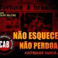 Neste 31 de março, não temos nada a comemorar. Há 55 anos atrás, foi instaurado no Brasil uma Ditadura Militar, que assassinou centenas de pessoas! Apoiados pelo empresariado e pela […]