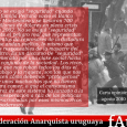 CARTA OPINIÓN FAU AGOSTO 2019 Mártires Estudiantiles, Filtro… y las botas quieren volver  1968 ha sido un año clave en la historia del movimiento popular uruguayo. Las clases dominantes […]