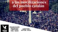 DECLARACIÓN DE APOYO A LAS MOVILIZACIONES DEL PUEBLO CATALÁN  Nuevamente el pueblo catalán está en las calles. Hace dos años ese mismo pueblo salió a defender una […]