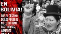 *No al golpe cívico-militar en Bolivia!* Repudiamos la acción golpista que se desarrolla en este momento en Bolivia. Bajo la presión del imperialismo, el ejército boliviano (heredero de la dictadura […]