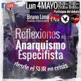 Invitamos a todxs a sintonizarnos el próximo lunes 04 de mayo para problematizar desde el anarquismo el actual escenario… Posted by Federación Anarquista Santiago onFriday, May 1, 2020