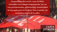 Carta opinión junio 2020 – El movimiento sindical en la calle. Leer aquí:carta opinion junio 2020