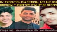 Video con audio desde la prisión del compañero Soheil Arabi, preso anarquista irani.  ¡Cese de la ejecución y libertad a los 3 jóvenes presos políticos! THREE YOUNG BOYS ARE […]