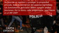 CARTA OPINIÓN FAU MARZO 2021 ANTE LA VICTORIA DEL CLASISMO Y LA ACTUAL SUSPENSIÓN DEL «SINDICATO POLICIAL» Amplio y profundo debate se ha generado en el movimiento sindical y popular, […]