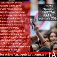 El proceso histórico reciente de Brasil deja a las claras muchas cosas, viejos debates que resucitaron sobre las vías posibles para los cambios, las esperanzas populares y emociones colectivas […]